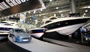 Московская выставка яхт