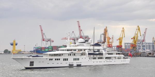 Моторная яхта «Tatoosh»