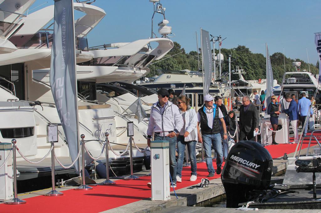 яхтенная выставка SPIBS 2015