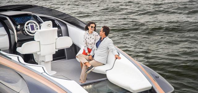Спортивной яхта Lexus