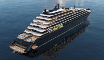 В испании состоялась презентация яхты The Ritz Carlton Yacht Collection