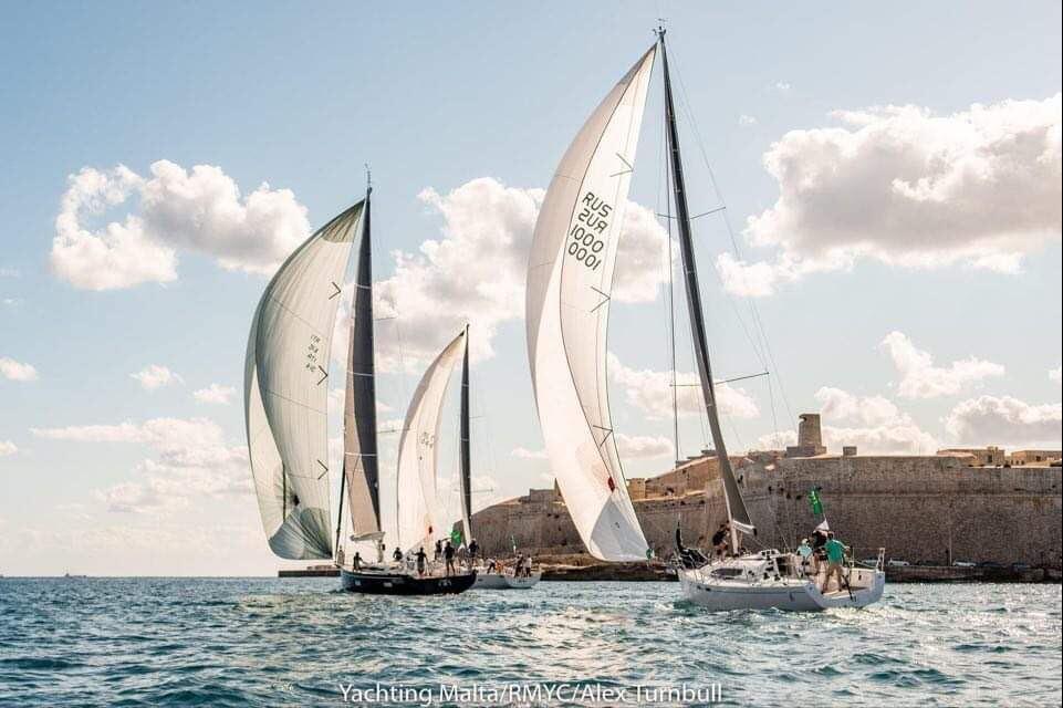 BURAN на пьедестале Rolex Middle Sea Race 2020